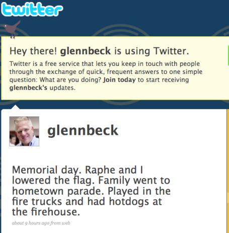 Glenn Beck 5-25