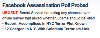 Fox Assasinate Obama 9-28