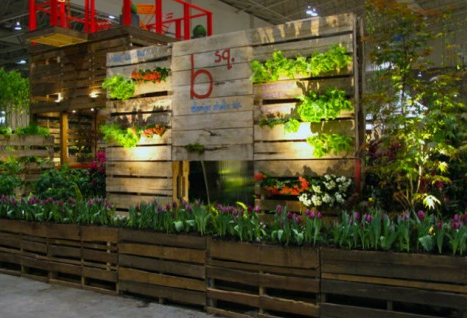 Garden Centre Ideas on Pinterest Display Square Foot