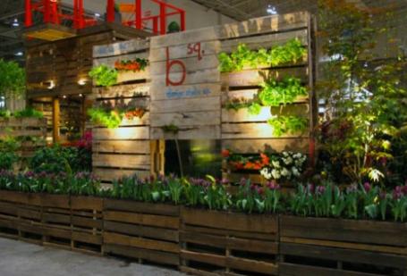 Garden Wall Pallets