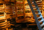 Room made of pallets