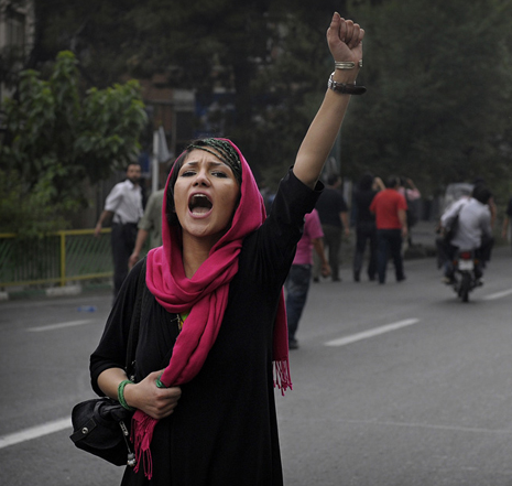 Up Its Oppression of Women » Iranian Women via AnimalNewYork.com