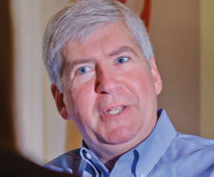 Gov. Rick Snyder via DailyKos.com