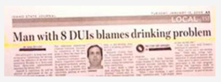 Newspaper Headline 2