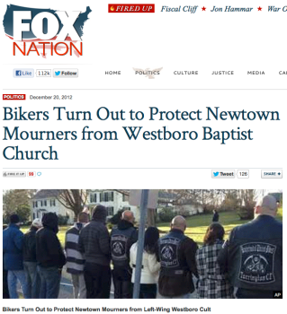 Westboro Left Wing Cult Fox 2