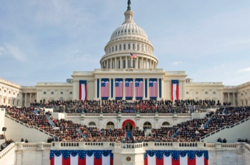 Inauguration day via neh.gov