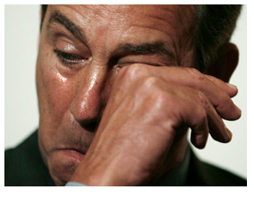 John Boehner Crying 12-22-10