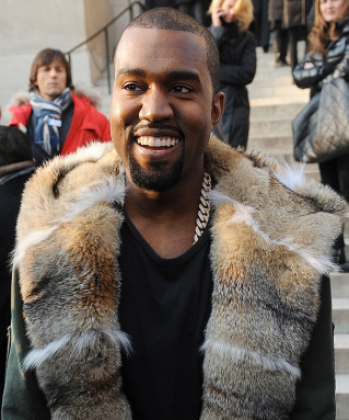 Kanye West EROTEME.CO.UK via DailyMail.co.uk