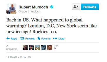 Murdoch re global warming