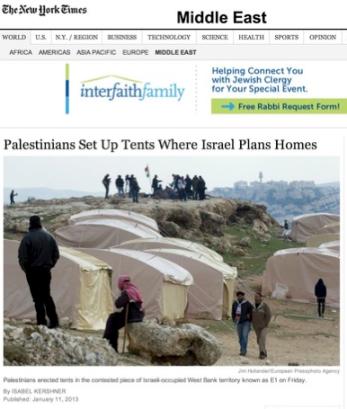 NY Times headline 2 1-12-13