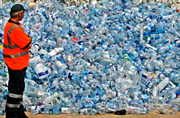 Plastic Water Bottles via Usermetside.com