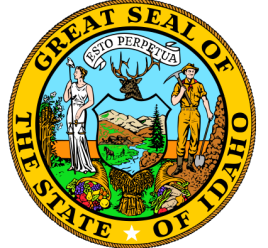 Seal of state of Idaho via Wikipedia