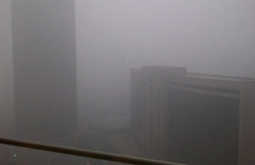 The air in Beijing 1-28-12 via Jim Sciuto on Twitpic