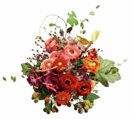 bouquet via glamour.com