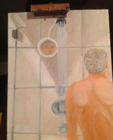 George W. Bush in the Shower via theSmoking Gun.com