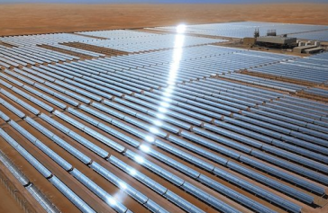 Abu Dhabi power plant via popsci.com Masdar on Facebook