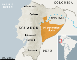 Ecuador via guardian.co.uk