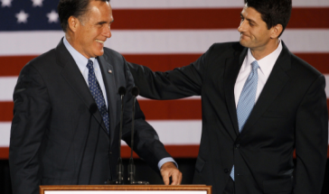 Romney and Ryan via AP M. Spencer Green