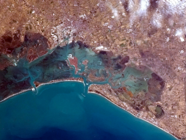 Venice from Space Chris Hadfield