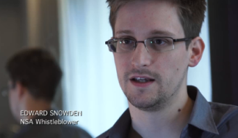 Edward Snowden via Guardian.co.uk