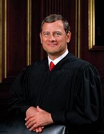 Justice john roberts via wikipedia