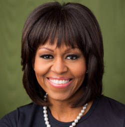 Michelle Obama via biography.com