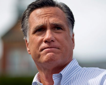 Mitt Romney looking confused via ABC News