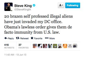 Steve King 6-13-13