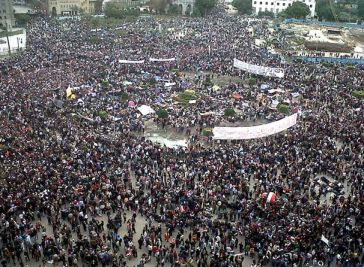 Tahrir Square via bricoleurbanism.org