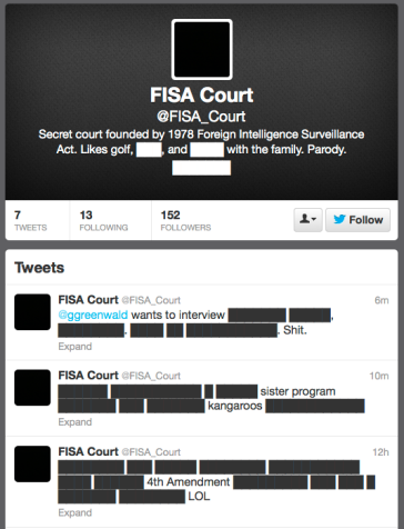 FISA Court on Twitter