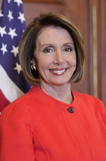 Nancy Pelosi via Wikipedia