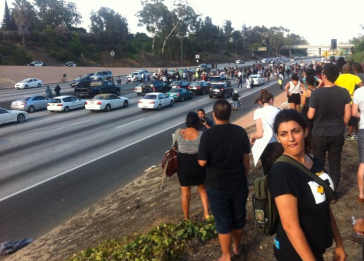 Shutting Down the I-10 Freeway 7-14=12
