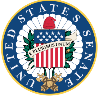 United States Senate seal via wikipedia