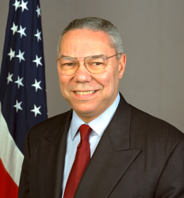 Colin powell via Wikimedia Commons