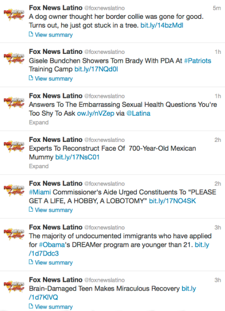 Fox News Latino 8-14-13