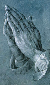 Prayer image via Wikipedia