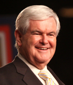 Newt Gingrich via Wikipedia