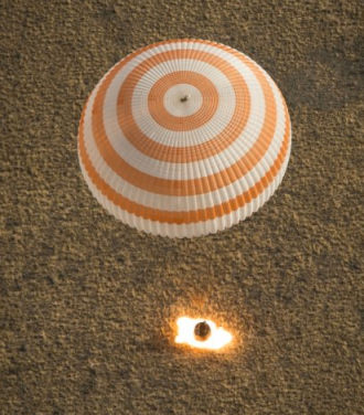 Soyuz via Bill Ingalls:NASA