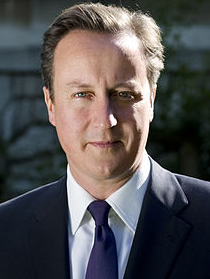 David Cameron via Wikipedia.org