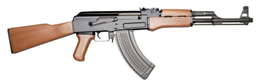 AK 47 via Wikipedia Commons
