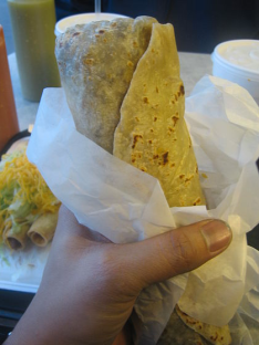 Burrito via wikipedia