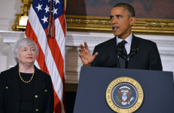 Janet Yellen via JewelSamad:AFP:Getty Images via hoh.rollcall.com