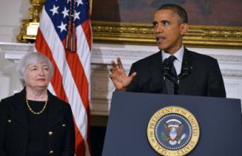 Janet Yellen via JewelSamad:AFP:Getty Images via hoh.rollcall.com