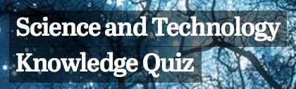 Pew Science and Tech Quiz