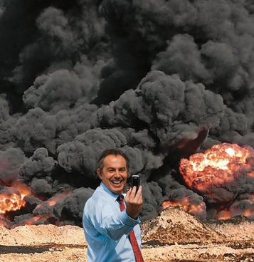 "Tony Blair Iraq War ""Selfie"" via Guardian.com"