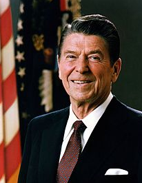 Ronald Reagan via wikipedia