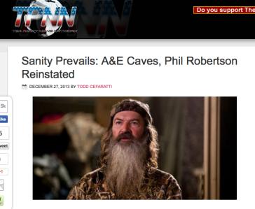 """""""Sanity Prevails"""" via TPNN.com"""