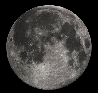 The Moon via wikipedia