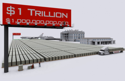 What $1 Trillion Looks Like via the sleuth journalcom