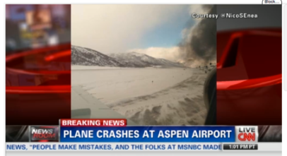 Aspen Plane Crash via CNN